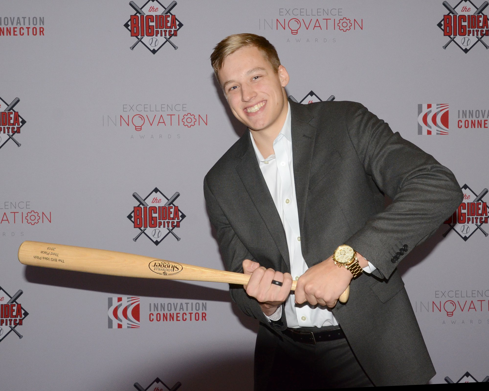 "<strong><span style=""color: #ff0000;"">Third Place Winner of the BIG Idea Pitch 2019 Competition, Carter Anderson</span></strong>"
